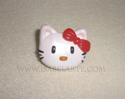 Hello Kitty-inspired brooch