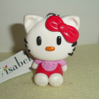 Llavero inspirado en Hello Kitty