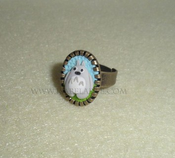 Ring inspired by Totoro