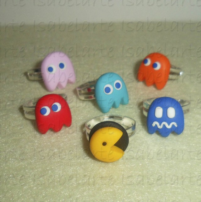 Ring inspired by PacMan