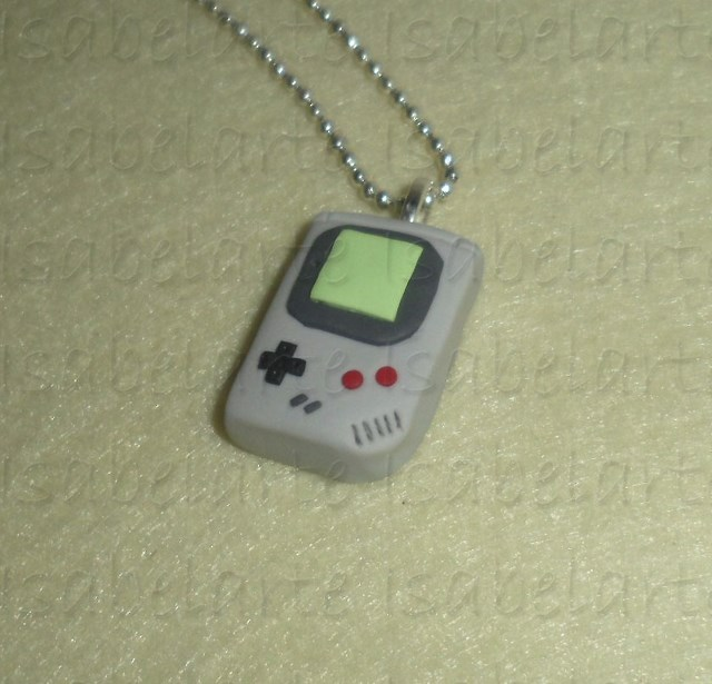 Game Boy-inspired pendant
