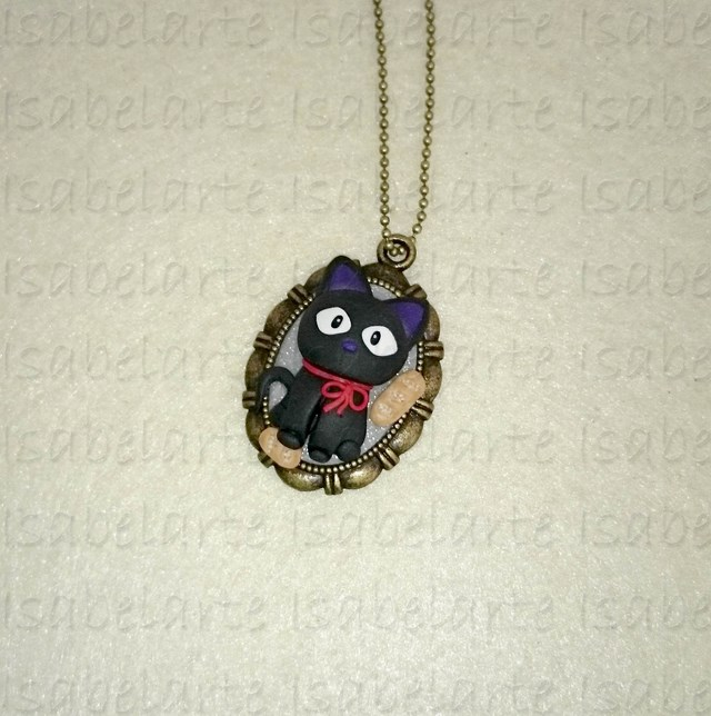 Cameo pendant inspired by Jiji
