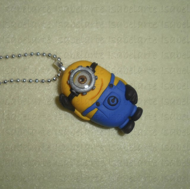 Minions inspired pendant