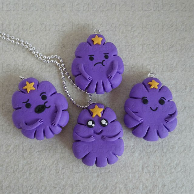 Lumpy Space Princess Pendant inspired