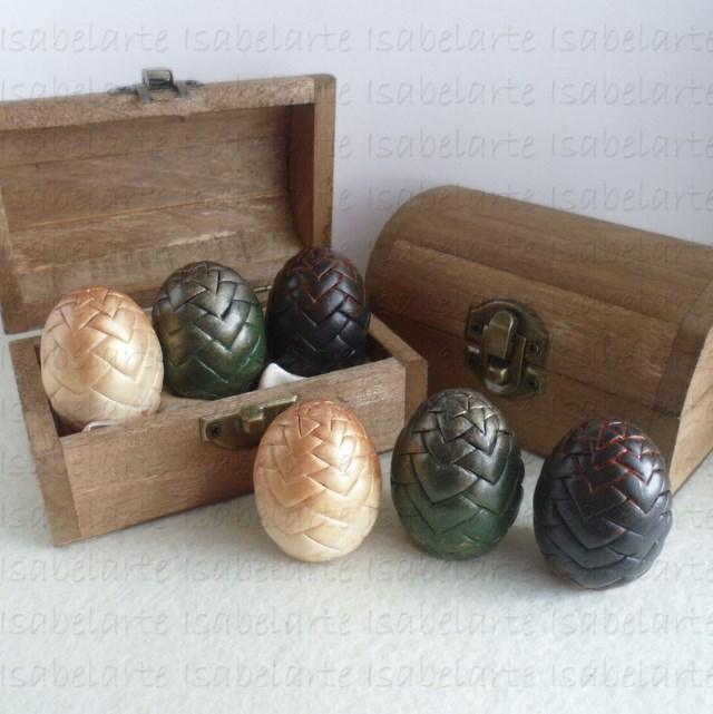 Dragon eggs Game of Thrones inspired mini size
