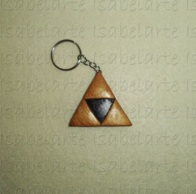 Inspired by the Triforce Keychain