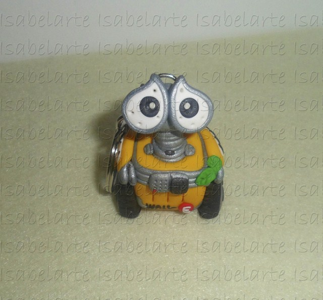 Keyring inspired by Wall-E
