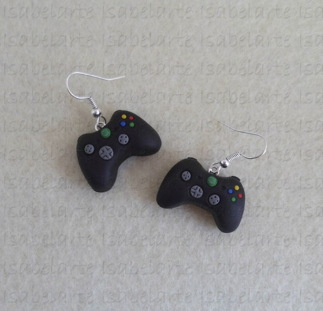 XBox controller inspired earrings